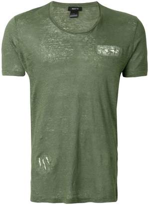 Avant Toi short-sleeve fitted T-shirt