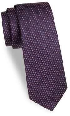 Saks Fifth Avenue Patterned Neat Silk Tie