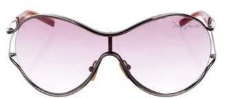 Marc Jacobs Shield Gradient Sunglasses