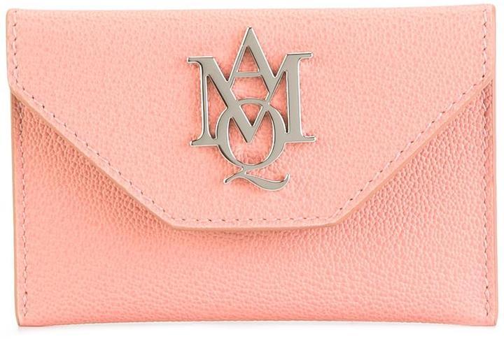 Alexander McQueenAlexander McQueen Insignia envelope cardholder