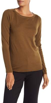 Lafayette 148 New York Solid Wool Pullover