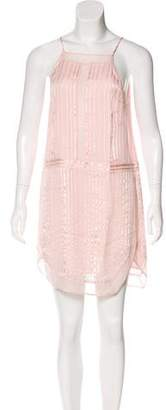 Mason Silk Mini Dress