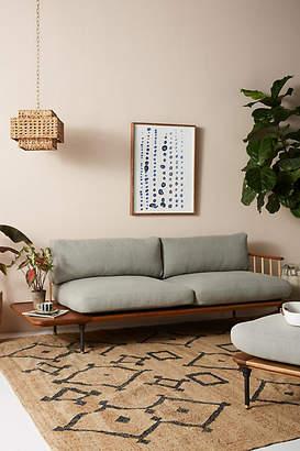 Anthropologie Kalmar Sofa with Side Table