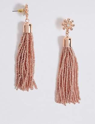 Marks and Spencer Beaded Tassel Drop Earrings