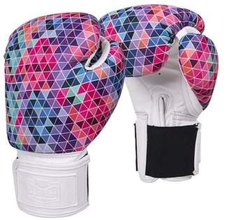 Red Corner Women's Boxing Glove 12oz - Mosaic Pattern