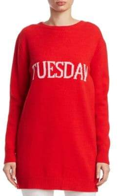 Alberta Ferretti Rainbow Week Capsule Days Of The Week Tuesday Tunic