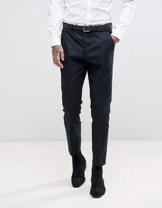 AllSaints Slim Fit Suit Pant