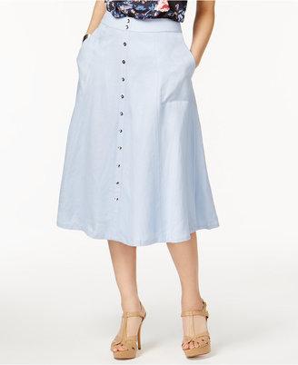 Grace Elements A-Line Skirt $70 thestylecure.com