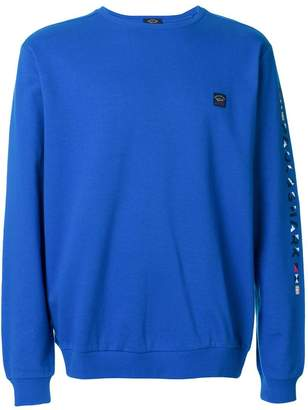 Paul & Shark logo patch sweatshirt