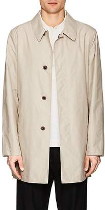 Fay Men's Cotton-Blend Tech-Taffeta Raincoat