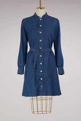 A.P.C. Jane denim dress