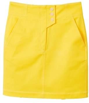 MANGO Cotton buttoned skirt