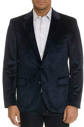 Robert Graham Barton Velvet Tailored Fit Blazer