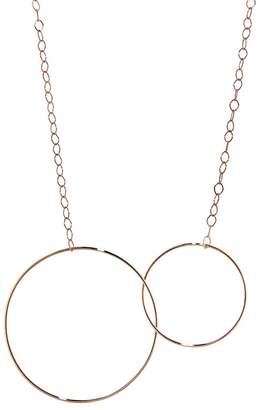 ginette_ny Circle & Baby Circle Necklace