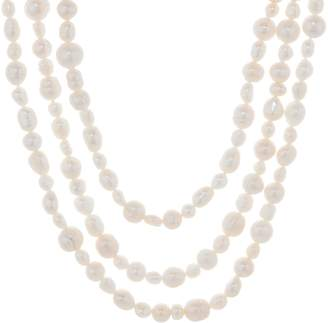 """Honora Cultured Pearl 80"""" Endless Strand Necklace"""