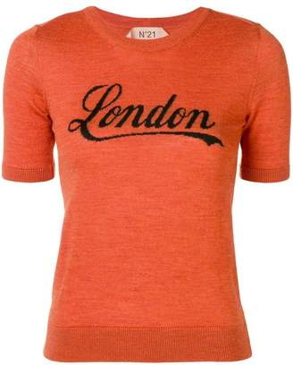 No.21 knitted London top