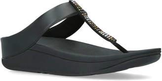 FitFlop Fino Strobe Toe Thongs