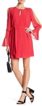 Haute Hippie Bessi Cutout Sleeve Dress