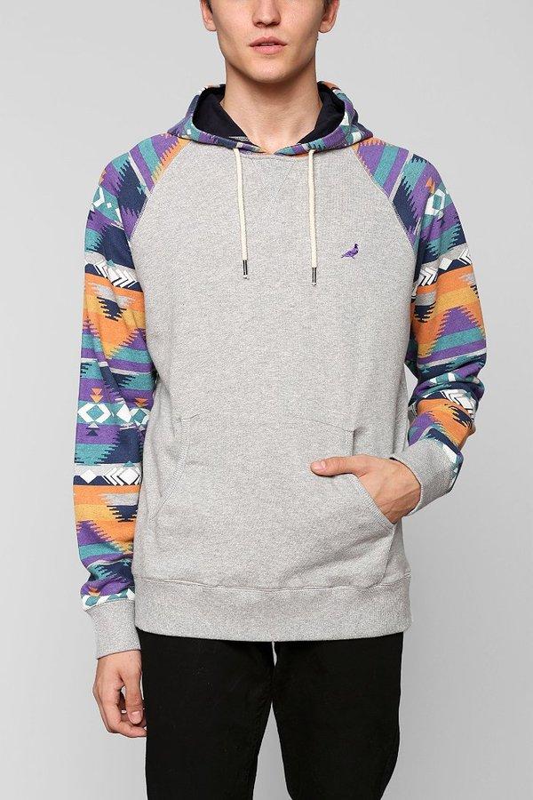 Staple Geo Pullover Hoodie Sweatshirt