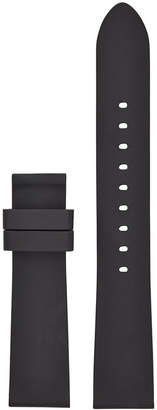 Michael Kors Women's Runway Black Silicone Smart Watch Strap