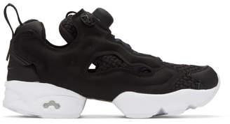 Reebok Classics Black InstaPump Fury Sneakers