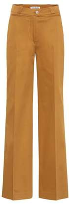 Acne Studios Tiffan wide-leg cotton trousers