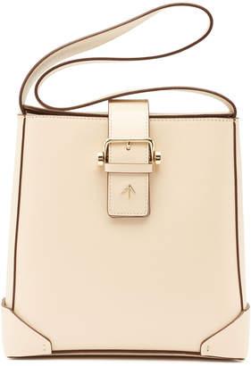 Atelier Manu Trapeze Leather Shoulder Bag
