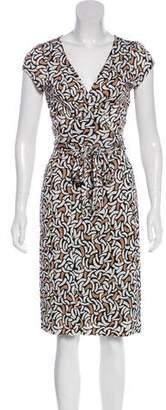 Diane von Furstenberg Kye Silk Midi Dress