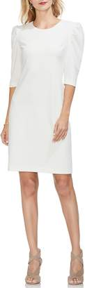 Vince Camuto Puff Shoulder Sheath Dress