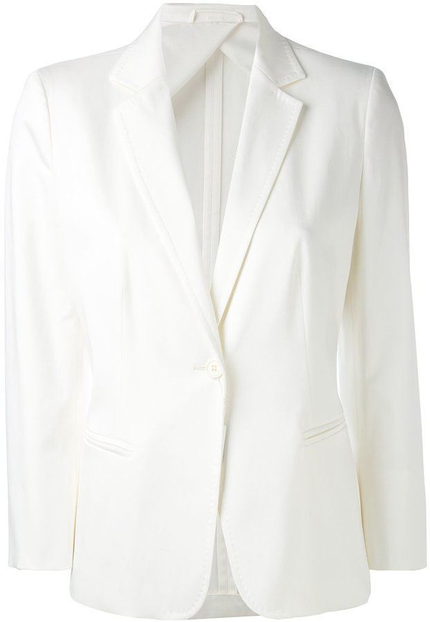 Max Mara Max Mara three quarter sleeve blazer