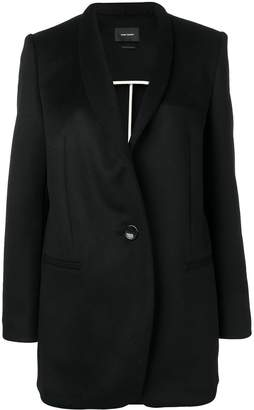 Isabel Marant single-breasted fitted coat