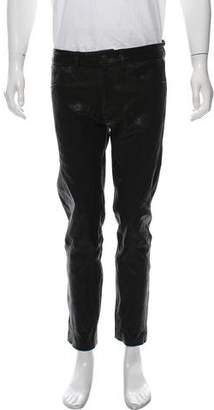 J Brand Tyler Leather Pants