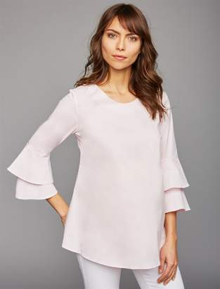 Isabella Oliver Pea Collection Sleeve Detail Maternity Blouse