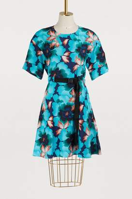 Kenzo Silk printed flowers dress