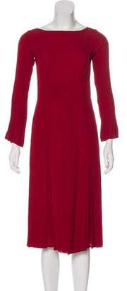 Marc Jacobs Pleated Work Dress