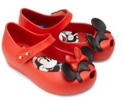 Mini Melissa Girl's Disney Twins II Mary Jane Flats