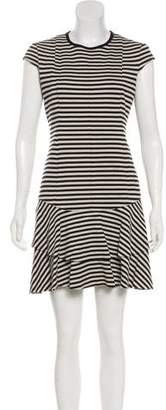 Akris Punto Pleated Mini Dress