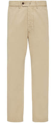 Officine Generale Washed Straight-Leg Chinos