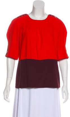 Marc by Marc Jacobs Short Sleeve Crew-Neck Top