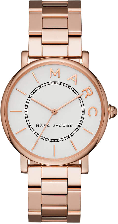 Marc By Marc JacobsMarc by Marc Jacobs Women's Roxy Rose Gold-Tone Stainless Steel Bracelet Watch 36mm MJ3523