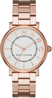 Marc Jacobs Women's Roxy Rose Gold-Tone Stainless Steel Bracelet Watch 36mm