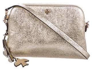 Tory Burch Peace Metallic Crossbody Bag
