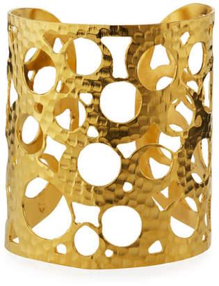 5b5e98d6314 Devon Leigh Multi-Circle Wide Cuff Bracelet