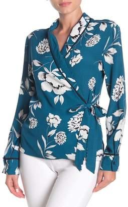 Yumi Kim Front Row Floral Wrap Top