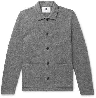 NN07 Mélange Boiled Wool Jacket