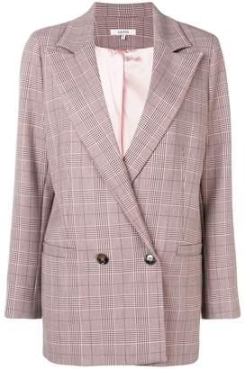 Ganni checkered blazer