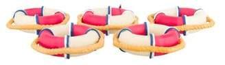 Kim Seybert Set of 5 All Aboard Napkin Rings