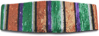 Missoni Striped Sequined Headband