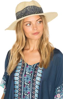 Hat Attack Wide Stripe Fedora $88 thestylecure.com