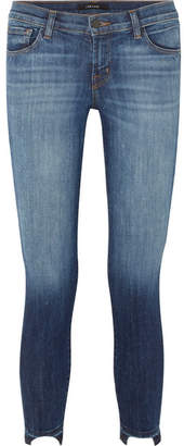 J Brand 9326 Low-rise Skinny Jeans - Dark denim